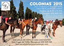 Colonias de verano 2015 - Equitación en junio y julio