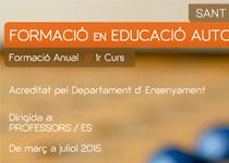 NOVES DATES Formació Educació Autodidacta 2015 Sant Cugat