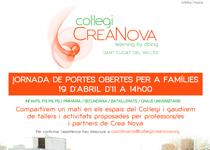 PORTES OBERTES 2015 Col·legi Crea Nova
